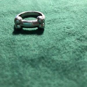 Sterling silver bone ring